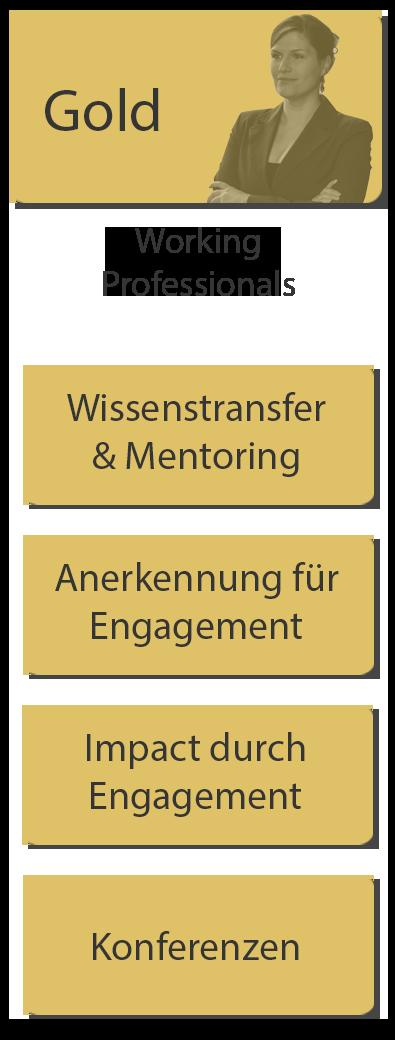 Vorteile für Working Professionals